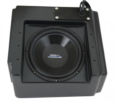 Yamaha Wolverine Under Seat Sub Box with 550 watt 10