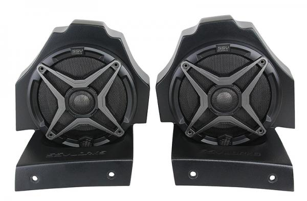 Polaris Slingshot Behind Seat Pods with 120watt 6.5