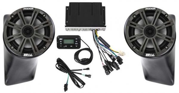 Arctic Cat Wild Cat X SSV Works / Kicker Audio Package - Stage 1