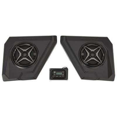 Yamaha Wolverine X4-X2 Audio Pod System with MRB3 Dash Kit and Overhead Front Speaker Pods