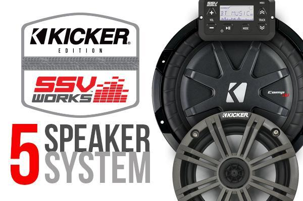 Polaris General Complete Kicker 5-Speaker Plug-&-Play System