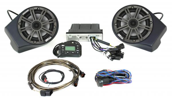 Textron Wild Cat XX SSV Works / Kicker Audio Package - Stage 1