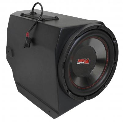 Polaris General Under Dash Subwoofer Enclosure WITH AMPLIFIED 600 WATT 10in Subwoofer