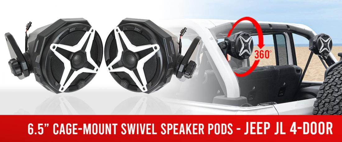 https://www.ssvworks.com/product/jeep-jl-4-door-cage-mount-6.5-swivel-speaker-pods