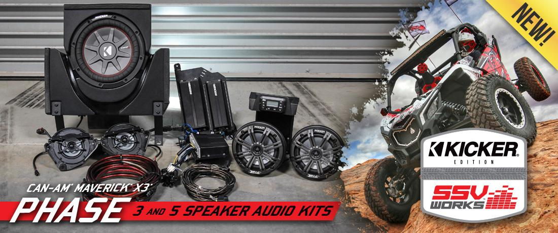 simply bolt in the pre-installed speakers and pre-tuned amplifiers with the  included vehicle specific plug & play wiring harness